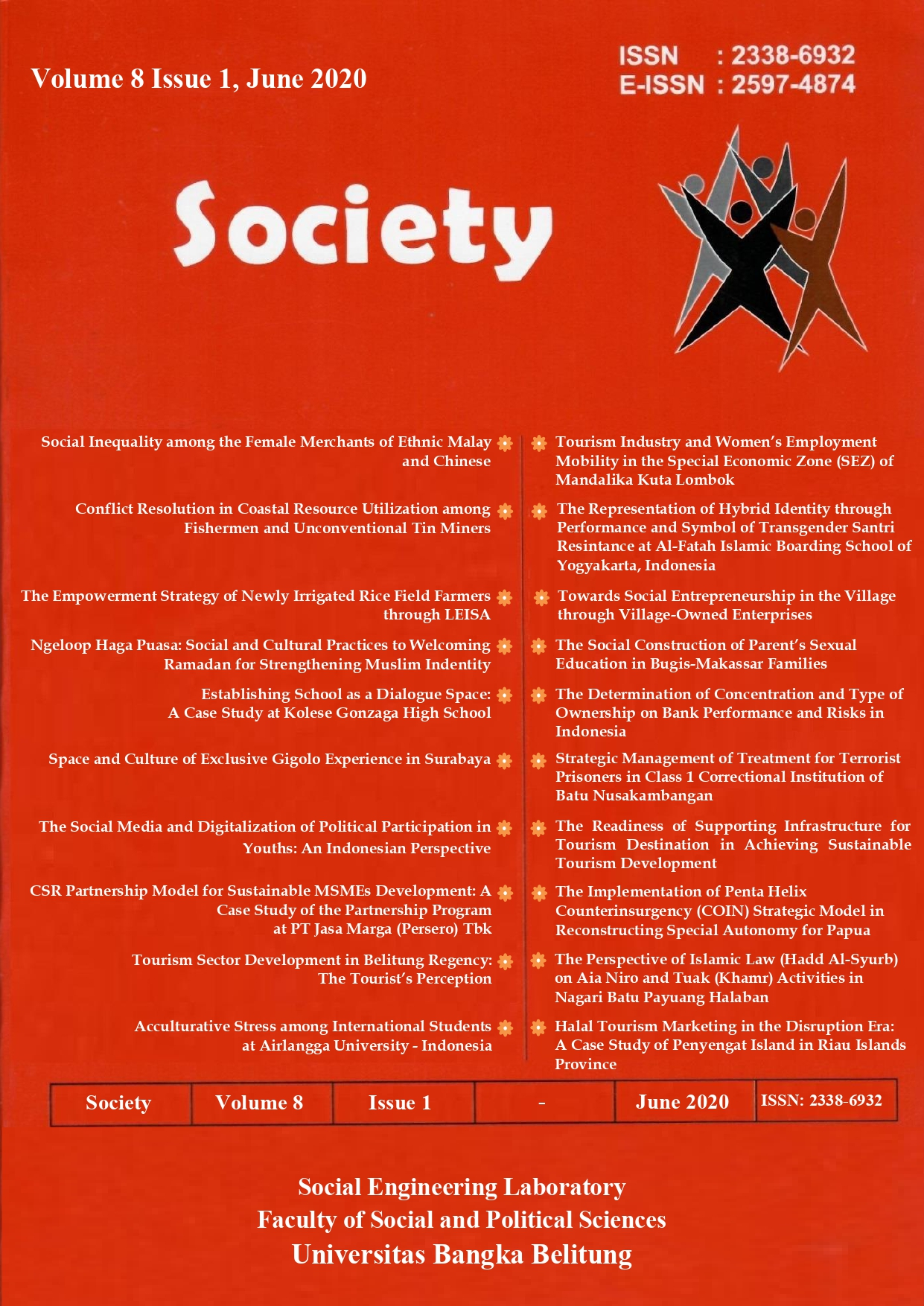 Society Volume 8 Issue 1#2020