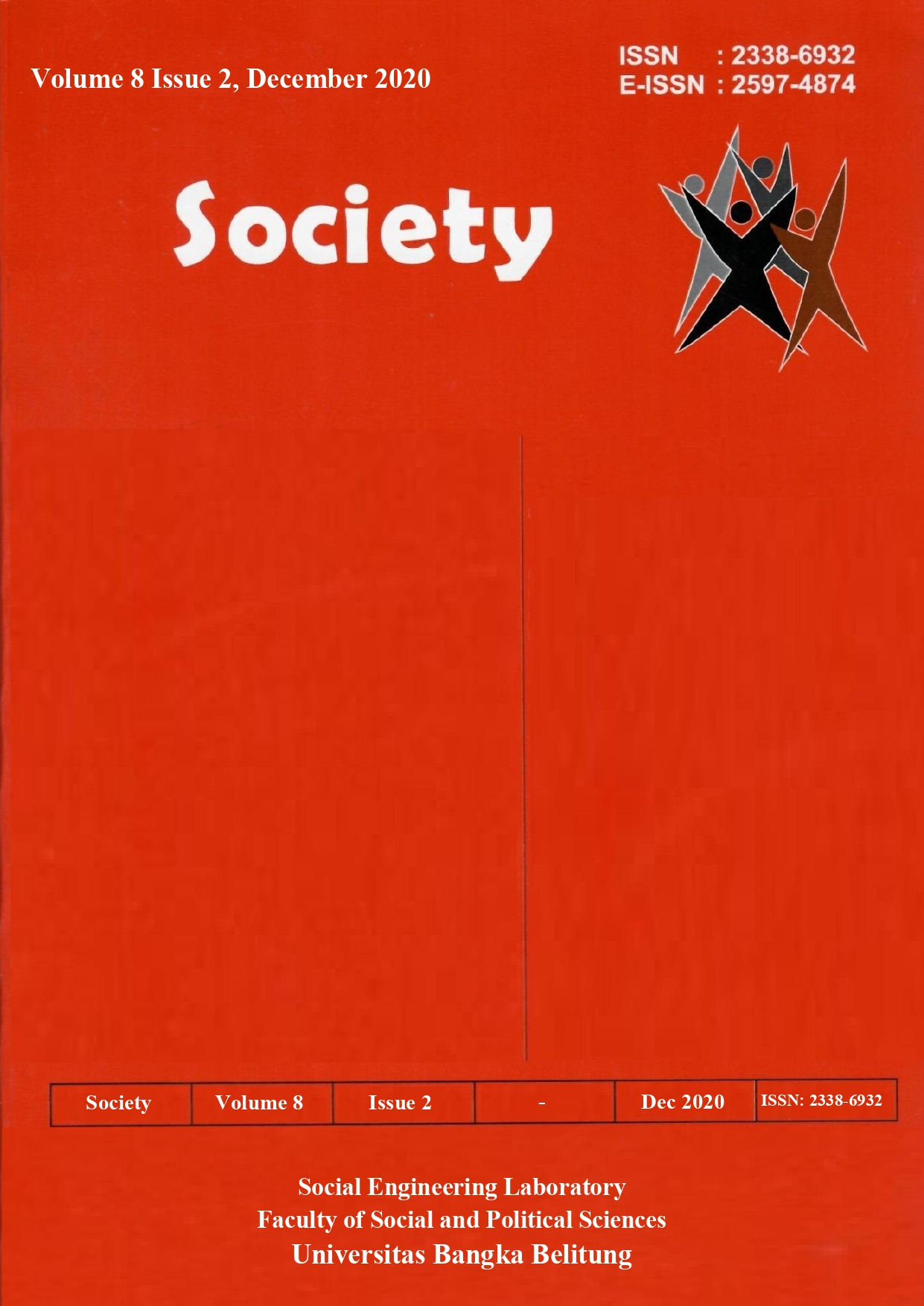 Society Volume 8 Issue 2#2020